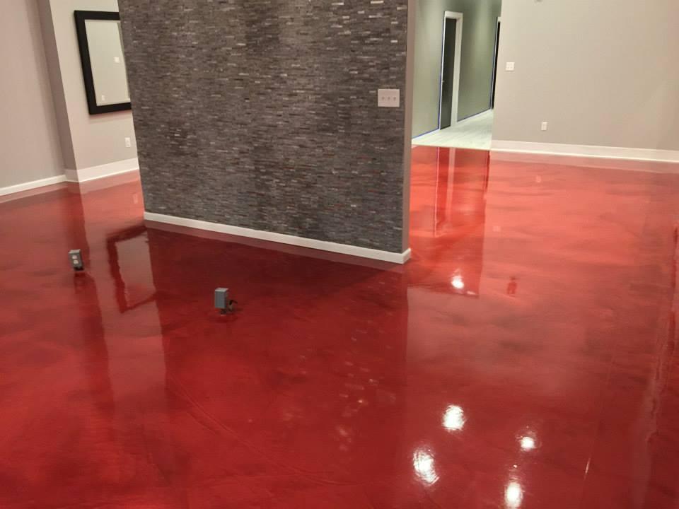 Commercial residential decorative concrete floors for Decorative concrete floors residential